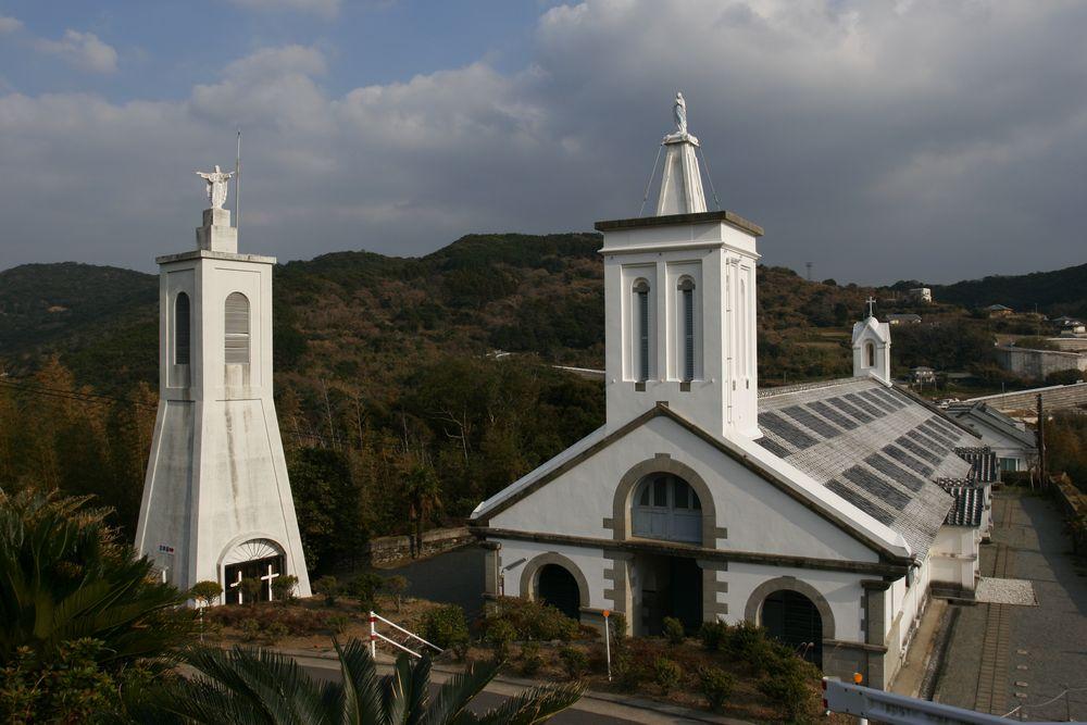 03_外海のシンボル、出津教会堂