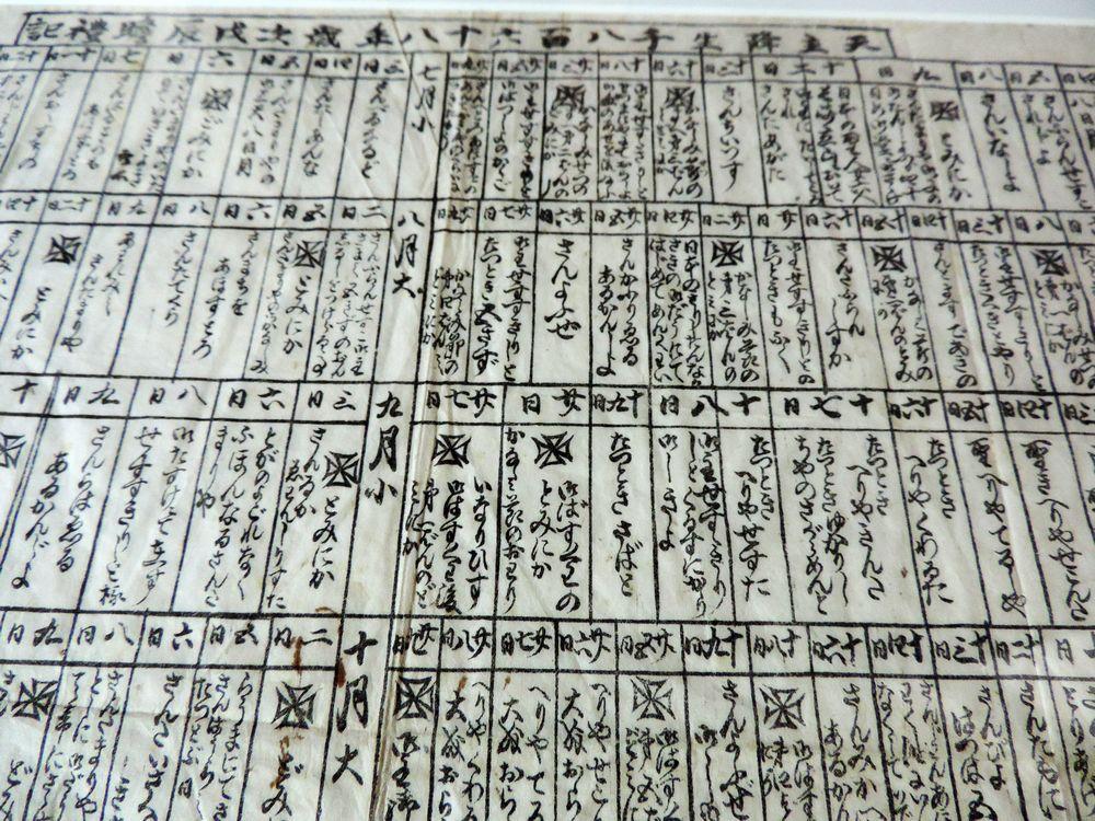 01_日本初の石版印刷はド・ロ神父が刷った教会暦