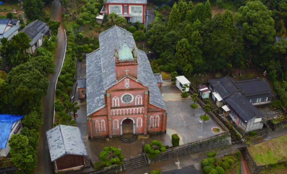 11_初代黒島教会堂跡(現在の黒島天主堂)