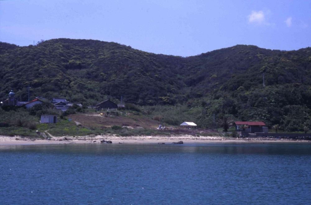 02_白浜集落の発掘写真(1995)